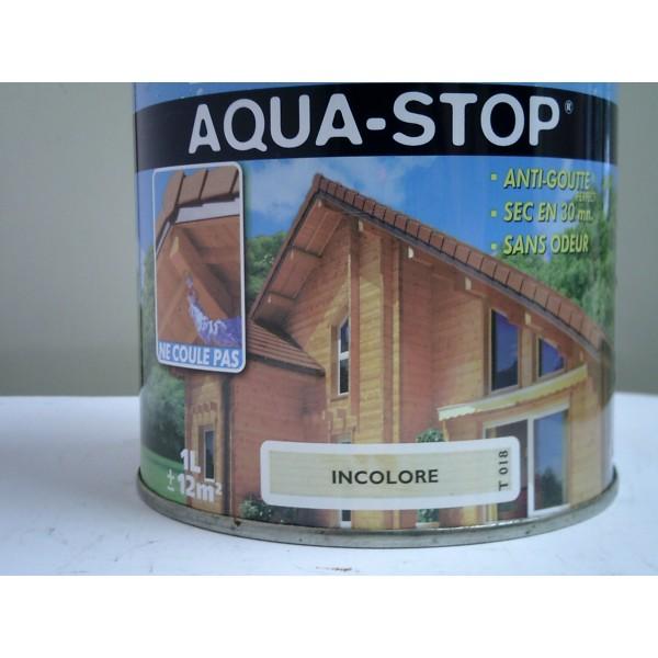 lasure aqua stop incolore 1l mondecor. Black Bedroom Furniture Sets. Home Design Ideas