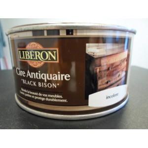 Cire des antiquaires en pate incolore 500 ml mondecor for Cire antiquaire black bison liquide