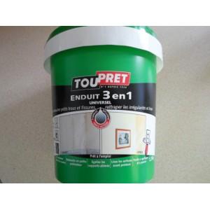 ENDUIT 3 EN 1 PATE 1,25 kg TOUPRET