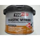 MASTIC VITRIER BLANC TOUPRET 0.5 KG