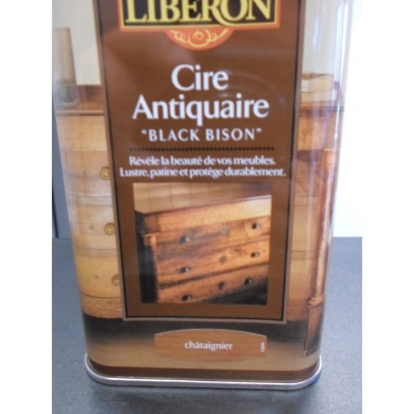 Cire des antiquaires chataignier mondecor for Cire antiquaire black bison liquide