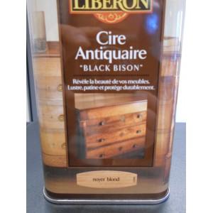 Cire des antiquaires noyer blond mondecor for Cire antiquaire black bison liquide