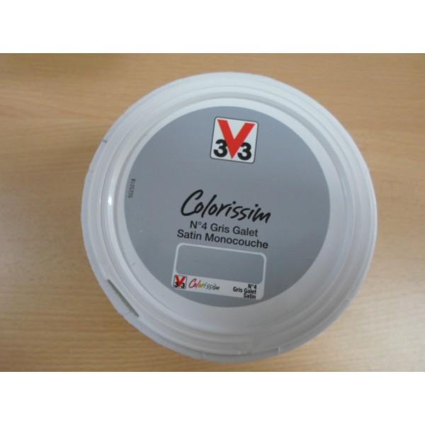 Acheter peinture v33 colorissim satin blanc grise amazon