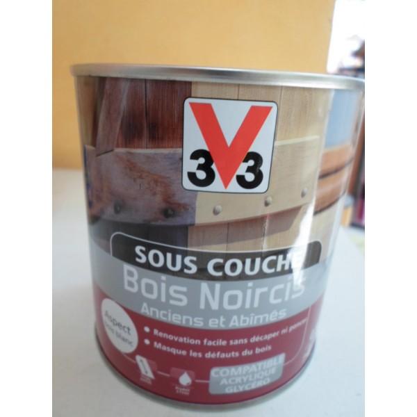 Sous couche lasure bois noircis peinture antirouille for Peinture meuble bois sans sous couche