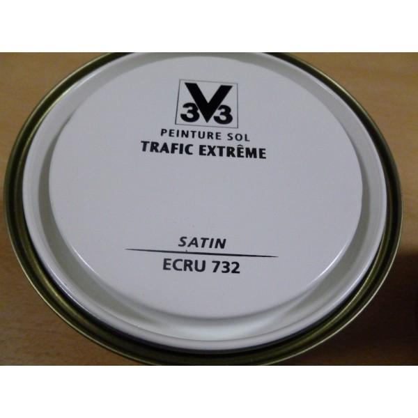 Sol trafic extreme ecru mondecor for Peinture sol trafic extreme