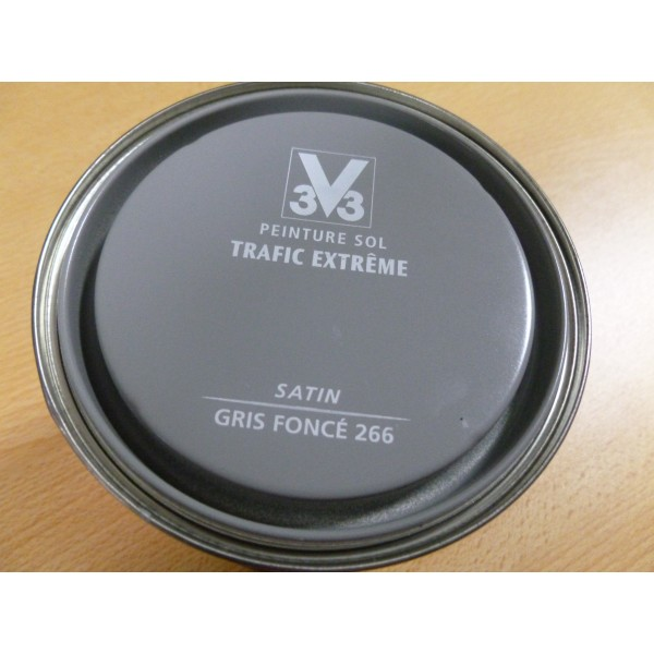 Sol trafic extreme gris fonce mondecor for Peinture sol trafic extreme