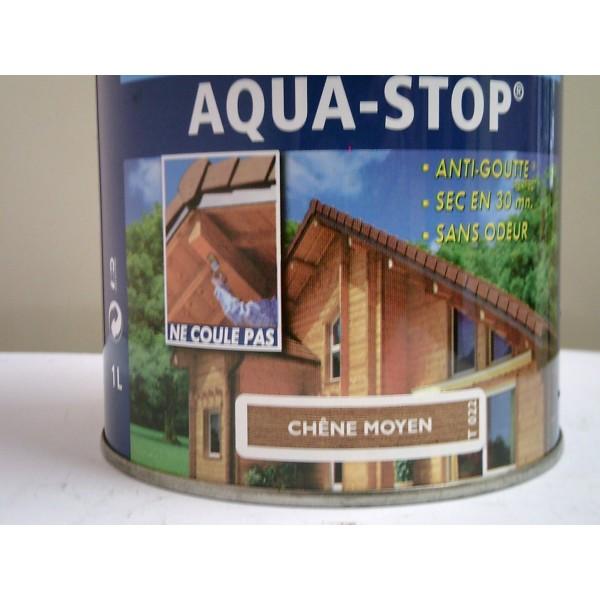 lasure aqua stop chene moyen 2 50l mondecor. Black Bedroom Furniture Sets. Home Design Ideas