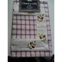 CHEMIN DE TABLE 40 X 150 OLIVES NOIRES