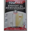 ENDUIT REBOUCHAGE PATE 1,25 kg TOUPRET